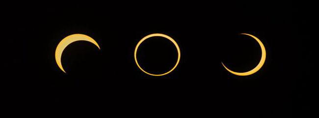 Australi, eklips tepër i rrallë i diellit