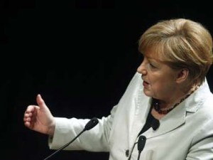 Merkel visits Portugal