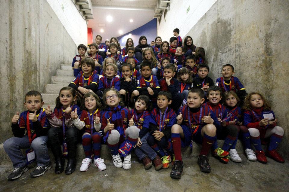 Barcelona, kamping talentesh në Kosovë
