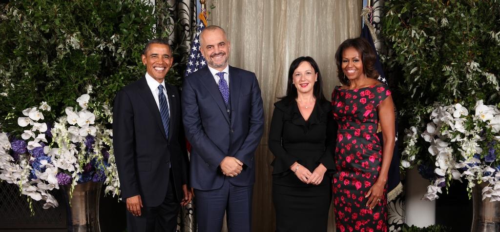 Rama, në pritjen e organizuar nga Obama: Falënderim SHBA-ve
