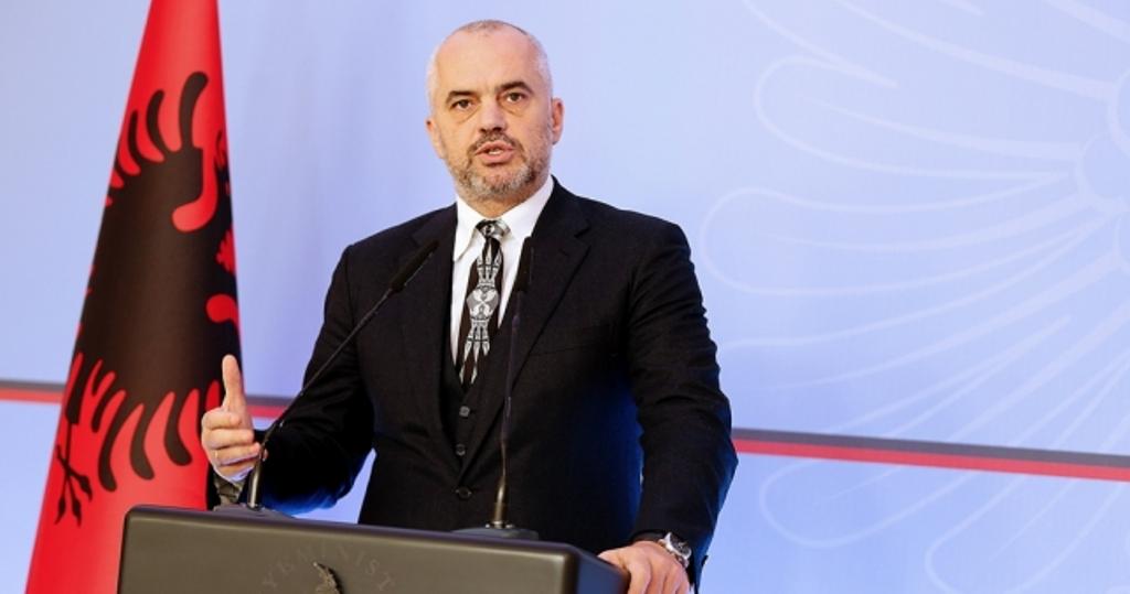 Kryeministri Rama: Sot është Shqipëria që ka fituar një status të ri në shoqërinë e vendeve evropiane