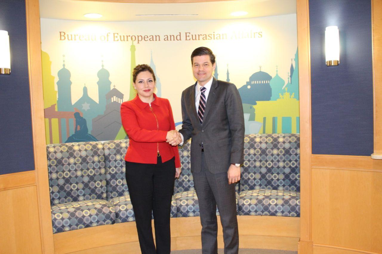 Ndihmëssekretari amerikan i shtetit për Europën dhe Euroazinë, pret në takim Ministren Xhaçka