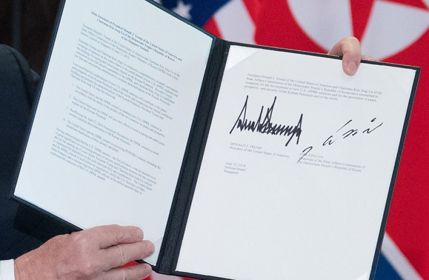 Sekretet e letrës së bardhë Trump-Kim Jong-un