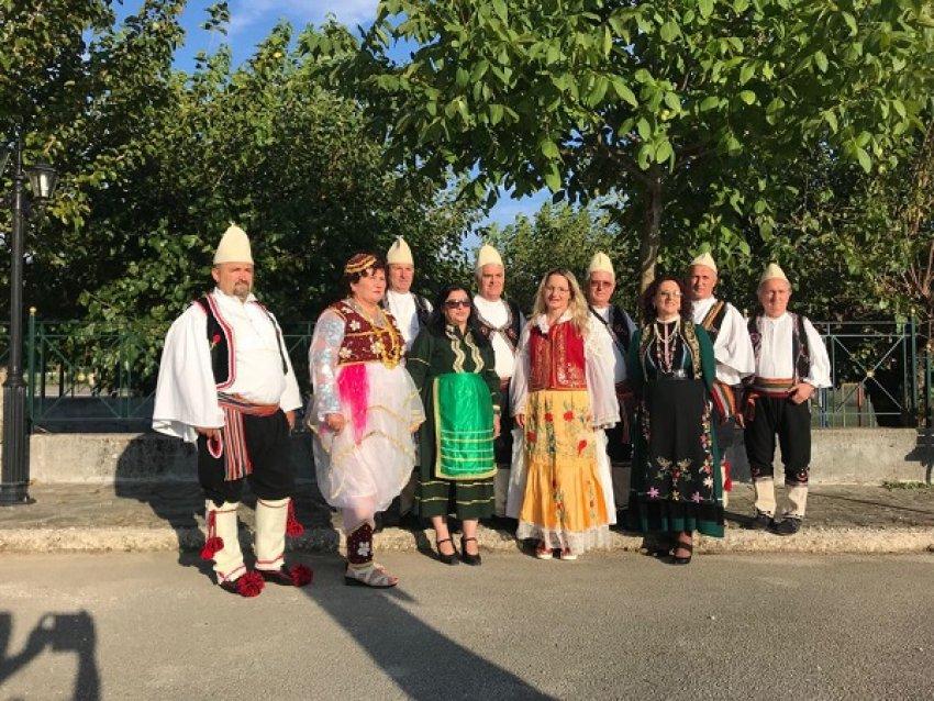 """Shoqata """"Polifonia Shqiptare"""" me grupin """"Bashkimi"""" nderi i Festivalit të Polifonisë në Pogon të Janinës"""