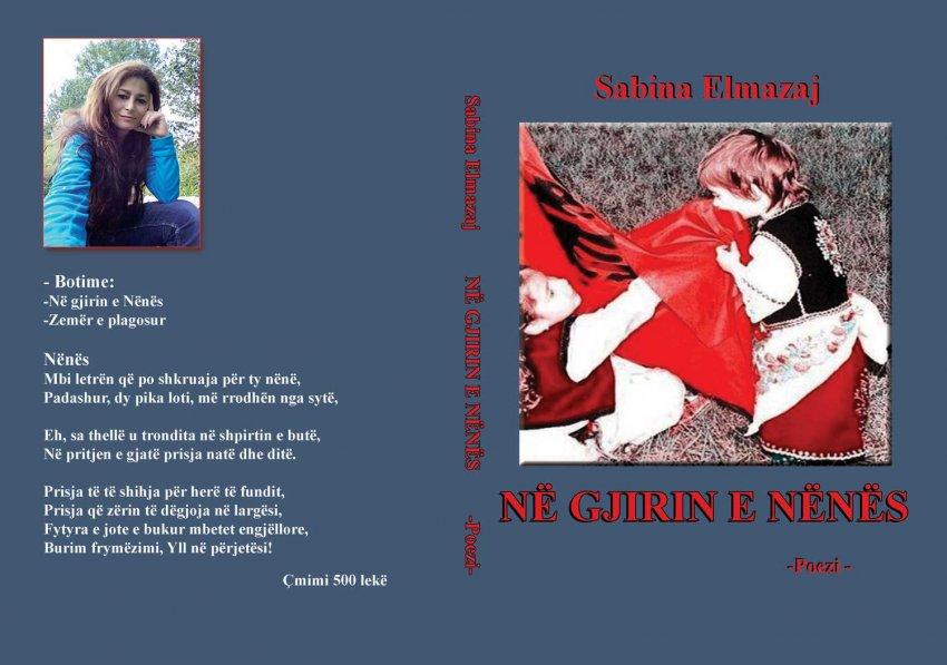 """Libri me poezi """"Në gjirin e Nënës"""" i poetes Sabina Elmazaj një libër patriotik me vlera"""
