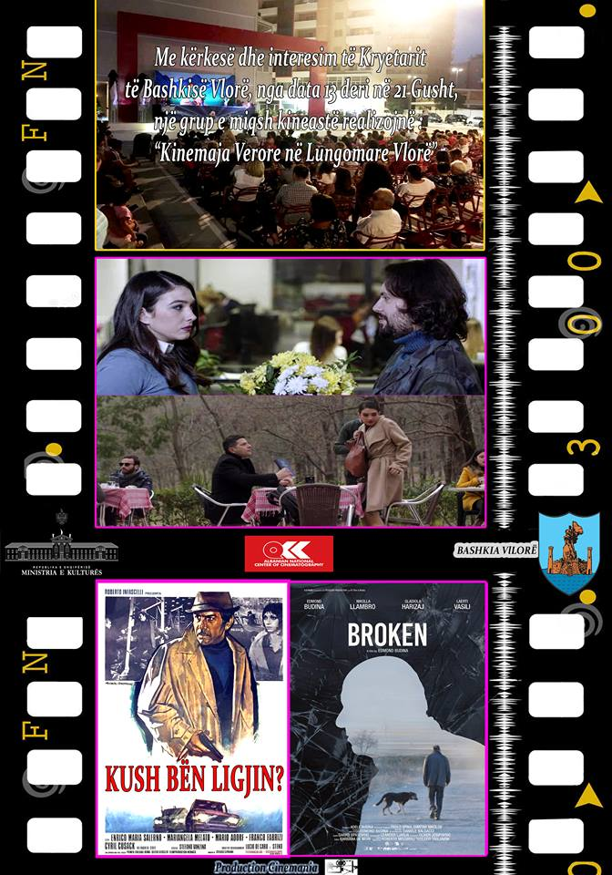 """Në Lungomare Vlorë, organizohet """"Open Cinema"""""""