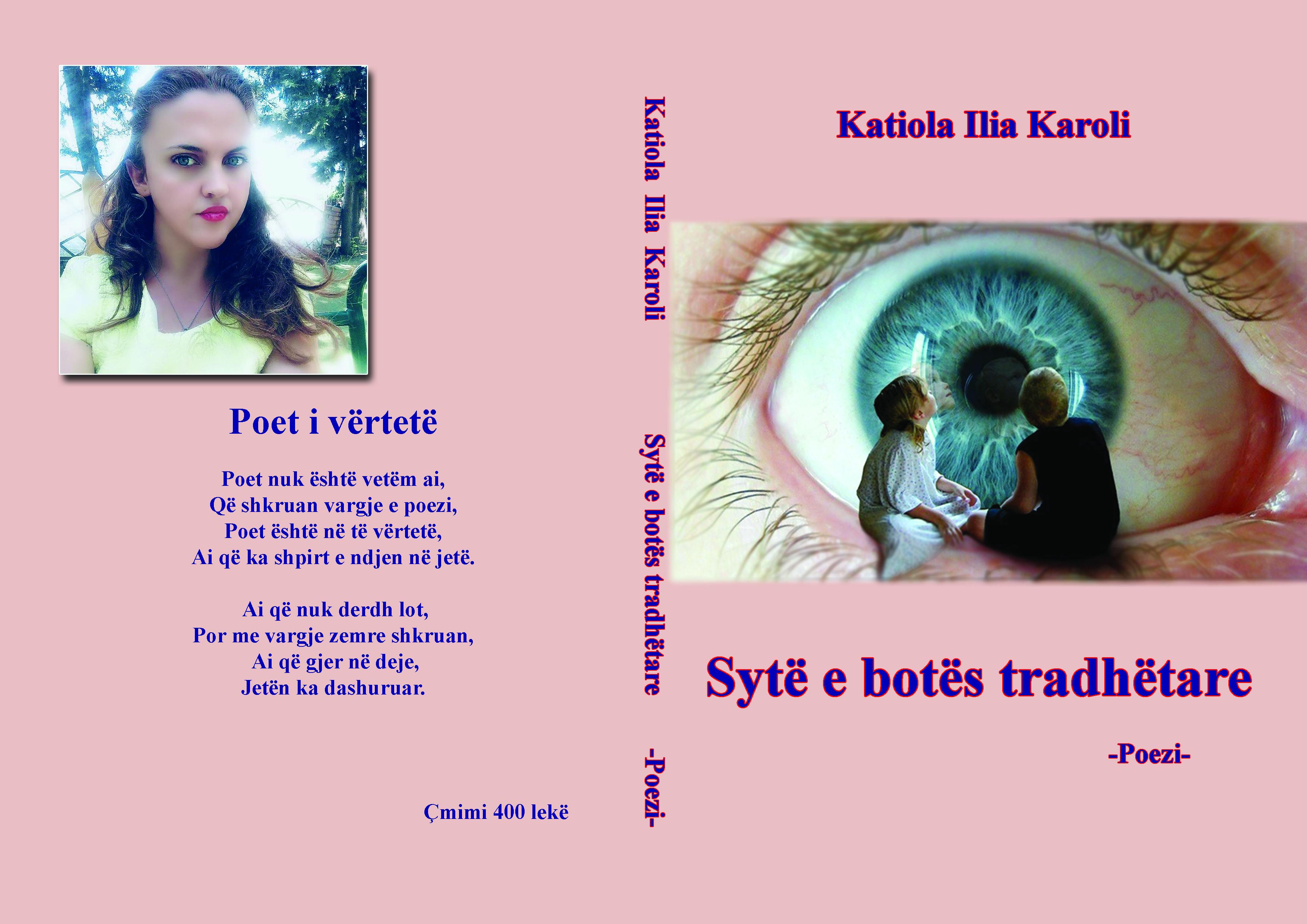 """Trendi i librit """"Sytë e botës tradhëtare"""" të  Katiola Karolit"""