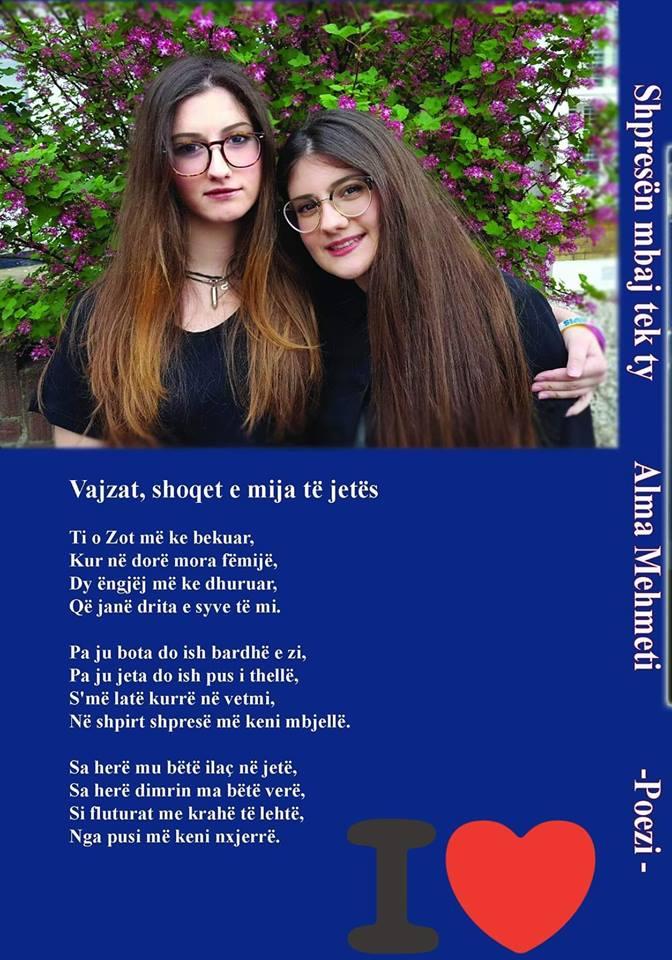Poezi nga Alma Mehmeti