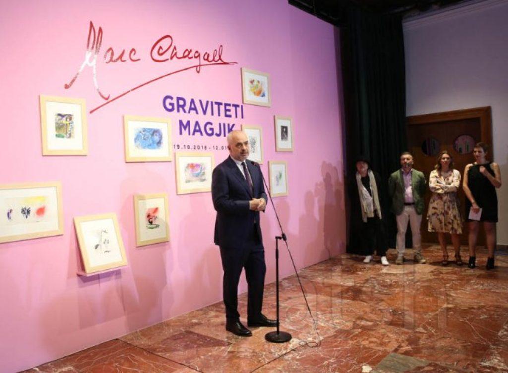 """Çelet ne COD ekspozita e Marc Chagall """"Graviteti Magjik"""""""