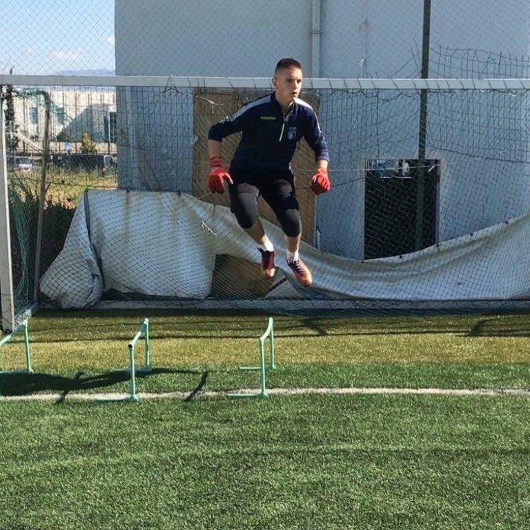Brajan Marku: Portieri shumë i talentuar i FK Partizani U-17