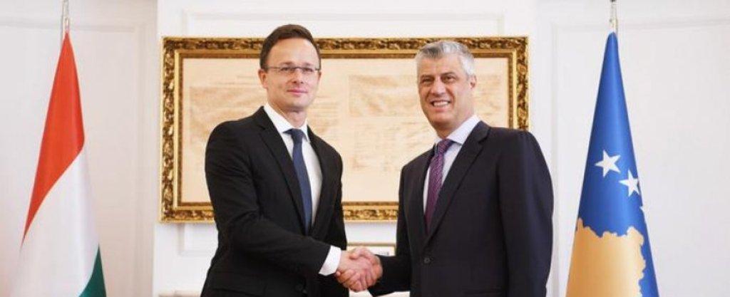 Ministri i Jashtëm hungarez: Politika jonë për t'ju mbështetur në integrimin në BE nuk ka ndryshuar