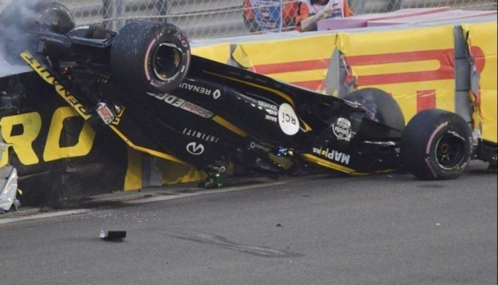Aksidenti i frikshëm në garën e fundit të Formula 1