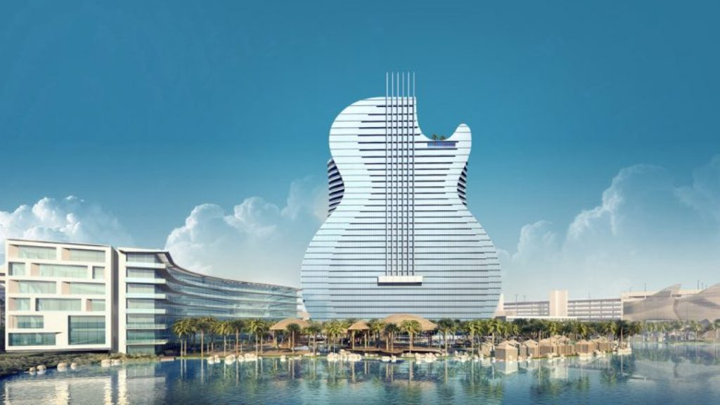 Hoteli i ri në formë kitare
