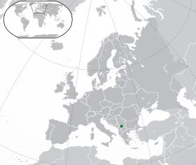 Renditja e Kosovës sipas hartës